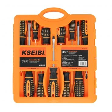 SCREWDRIVER AND BIT SET 865 39PCS