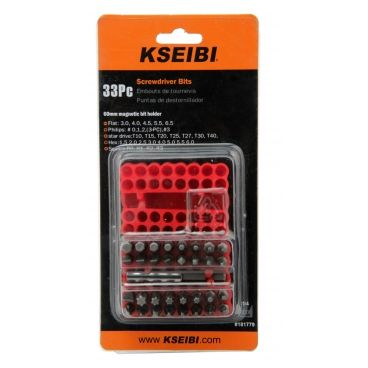 SCREWDRIVER BIT SET 33PCS