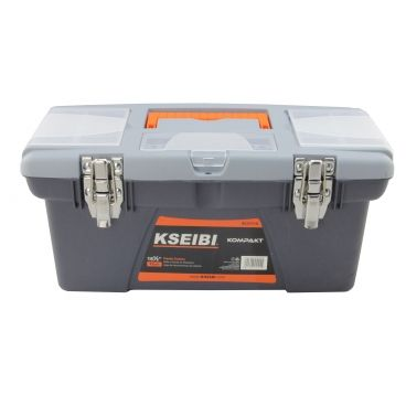PLASTIC TOOL BOX/STEEL LOCK