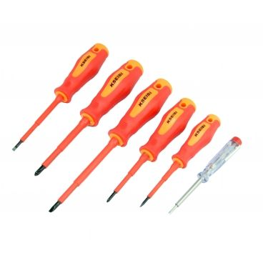 VDE INSULATED SCREWDRIVER SET 960 6PCS