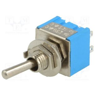 TOGGLE SWITCH 2-POSITION  ON-ON 3A/250VAC
